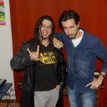 Javier Medina y Pablo Perez graban el podcast La Paja Nocturna