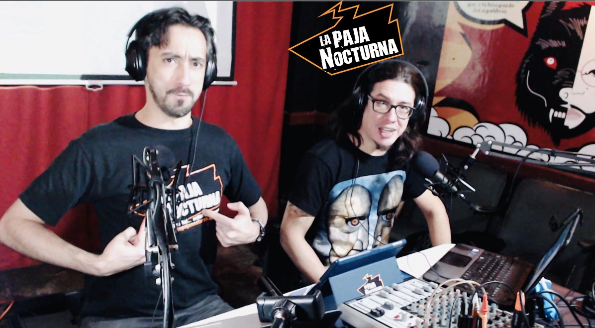 La Paja Nocturna Podcast Con Javier Medina y Pablo Perez