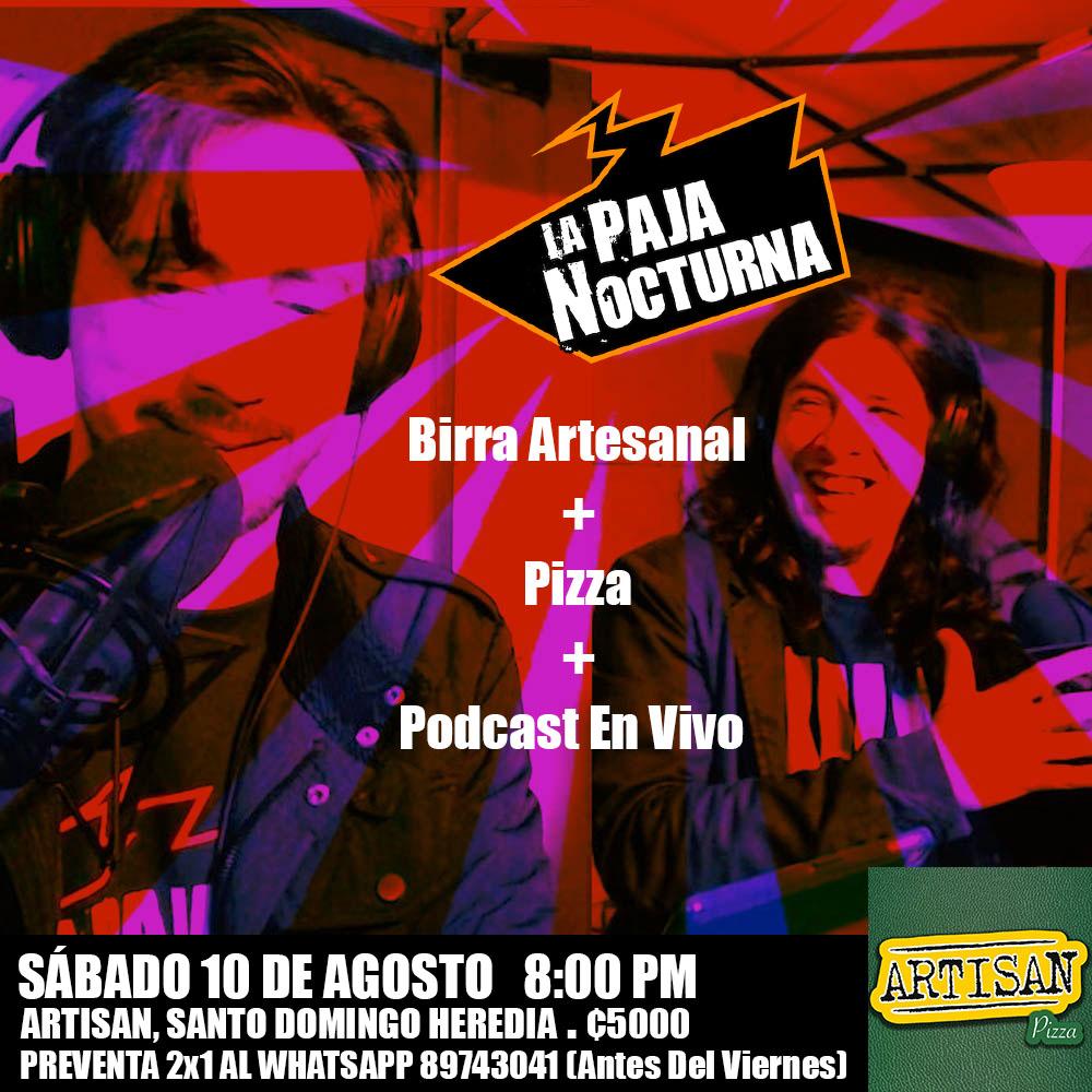 La Paja Nocturna Podcast con Javier Medina y Pablo Perez en Vivo