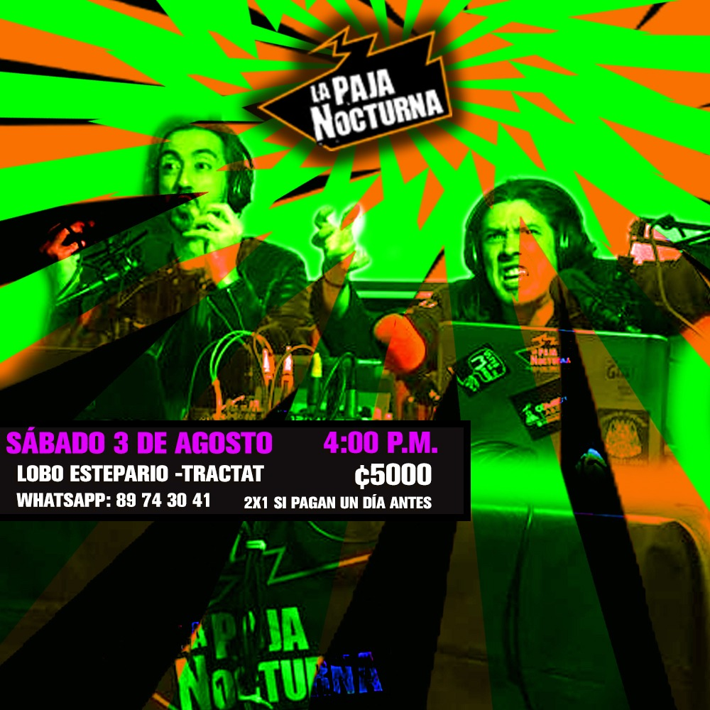 Paja Nocturna Podcast En Vivo Eventos