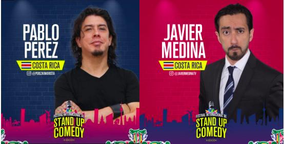 Javier Medina y Pablo Perez Festival Internacional Stand Up Comedy 2019