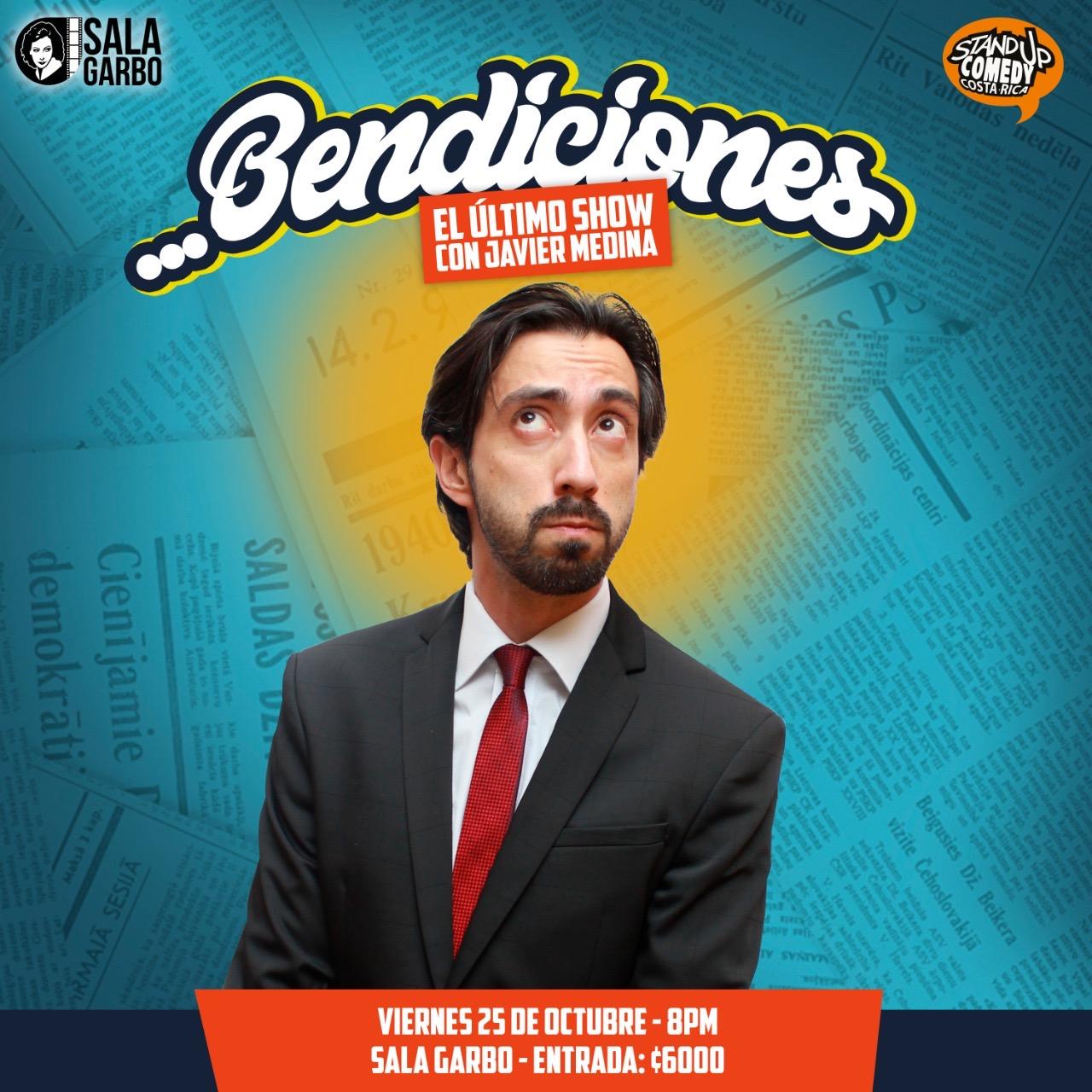 Show Bendiciones. Con Javier Medina