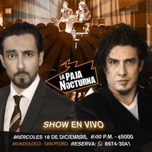 La Paja NocturnaPodcast En Vivo 18 Diciembre