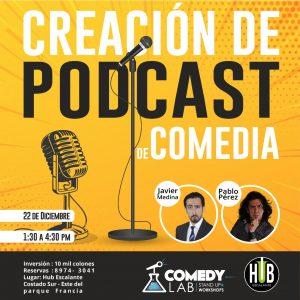 Taller Podcast Comedia