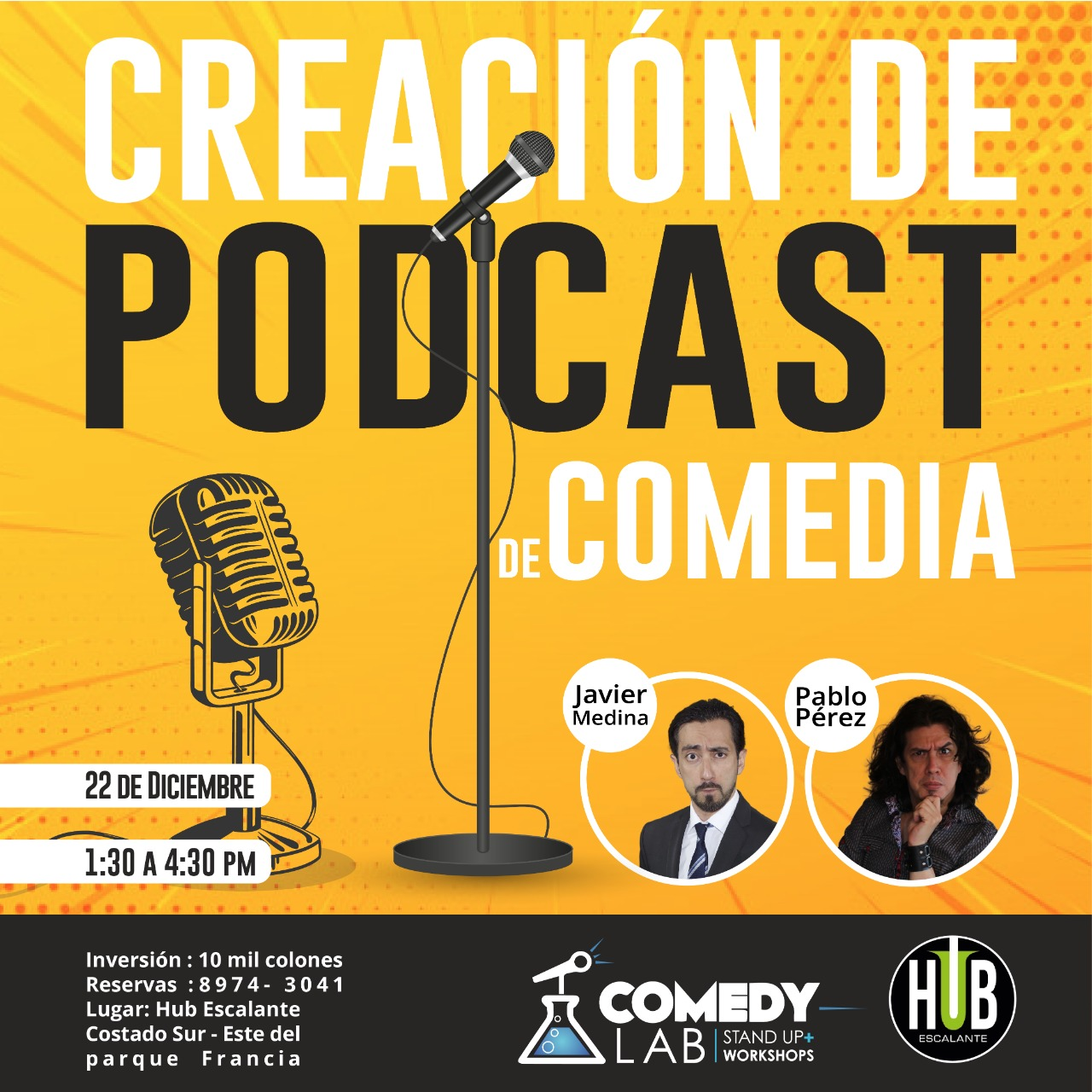 Taller Podcast Comedia