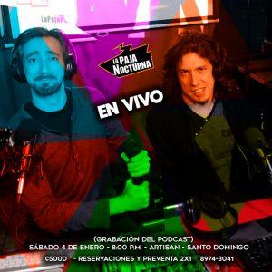 La Paja NocturnaPodcast En Vivo 5 Enero Artisan
