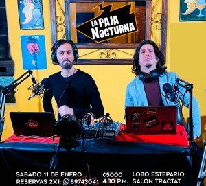 La Paja NocturnaPodcast En Vivo 11 Enero Lobo Estepario