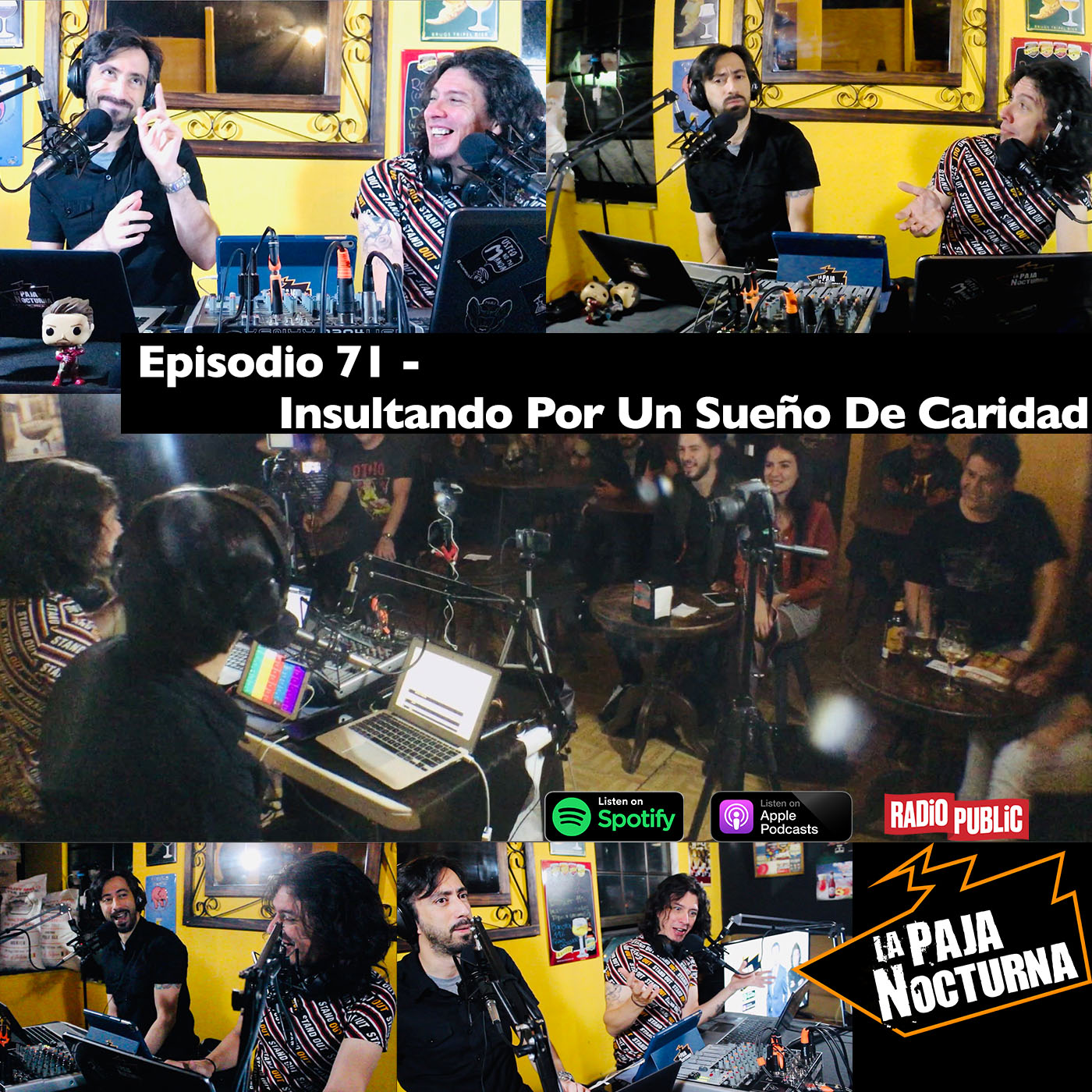La paja nocturna podcast Episodio 71