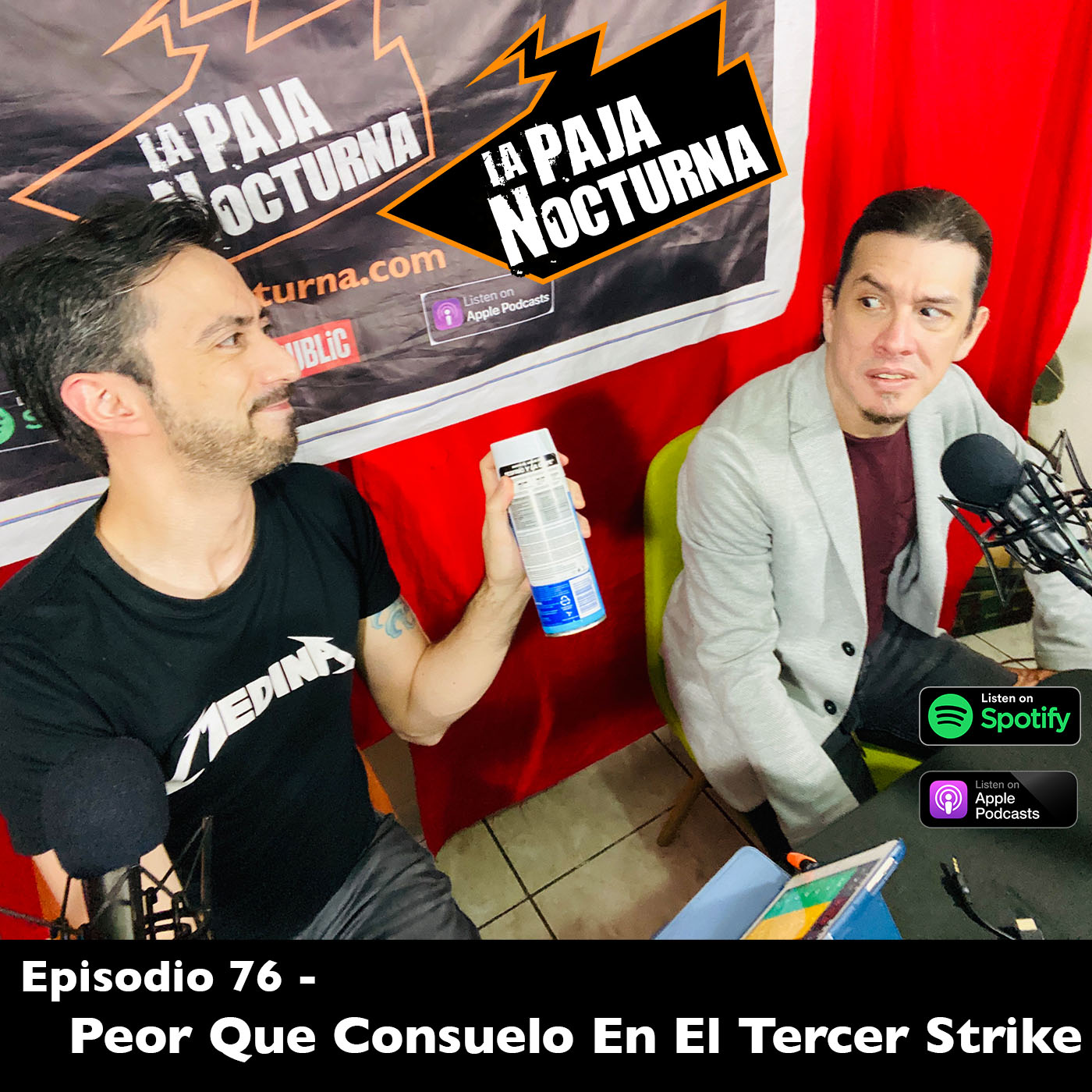 La paja nocturna podcast Episodio 76