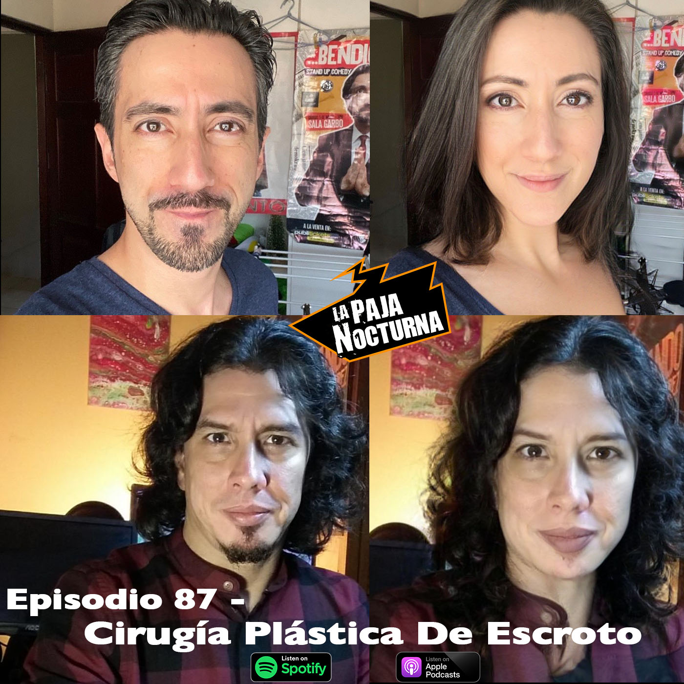 La paja nocturna podcast Episodio 87