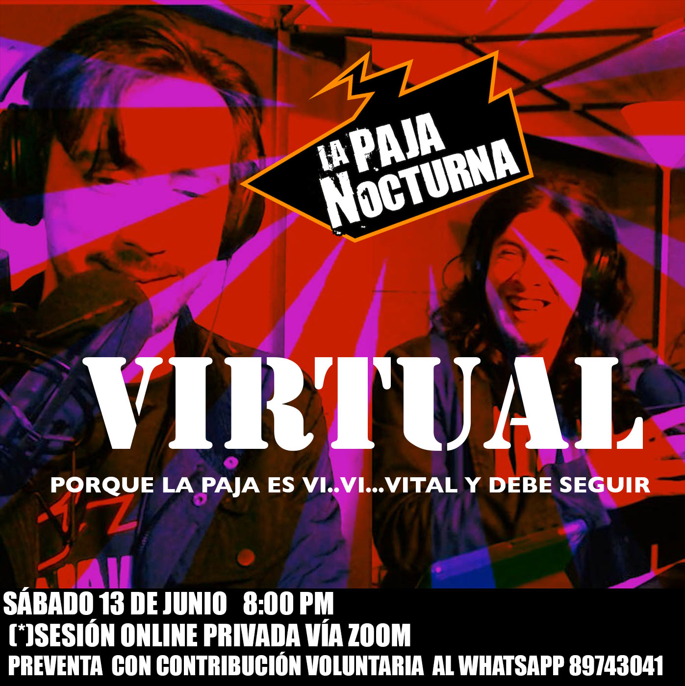 La Paja Nocturna Virtual En Vivo 13 Junio