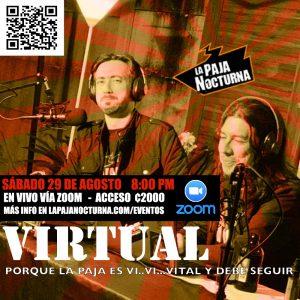 La Paja Nocturna Virtual En Vivo 29 Agosto