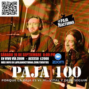 La Paja Nocturna Virtual En Vivo 19 Septiembre