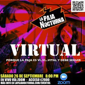 La Paja Nocturna Virtual En Vivo 26 Septiembre