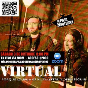 La Paja Nocturna Virtual En Vivo 3 Octubre