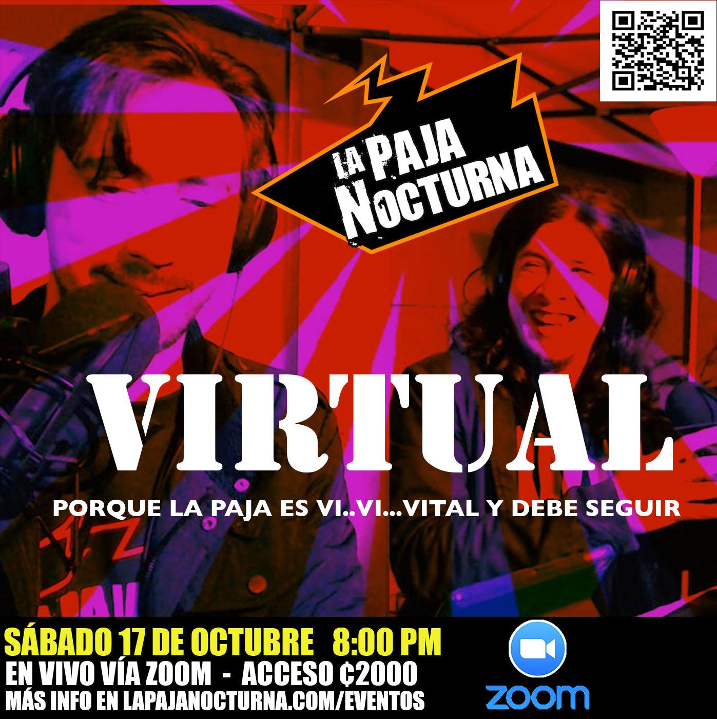 La Paja Nocturna Virtual En Vivo 17 Octubre