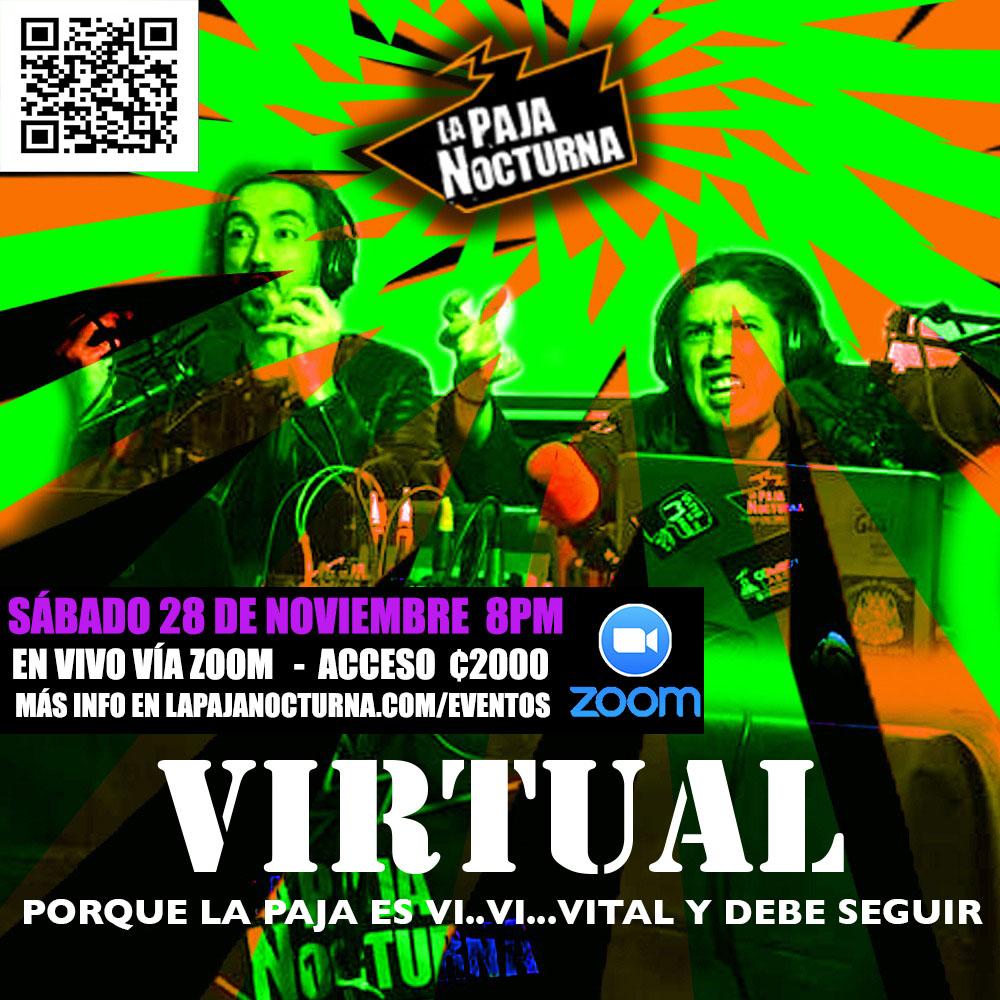 La Paja Nocturna Virtual En Vivo 28 Noviembre
