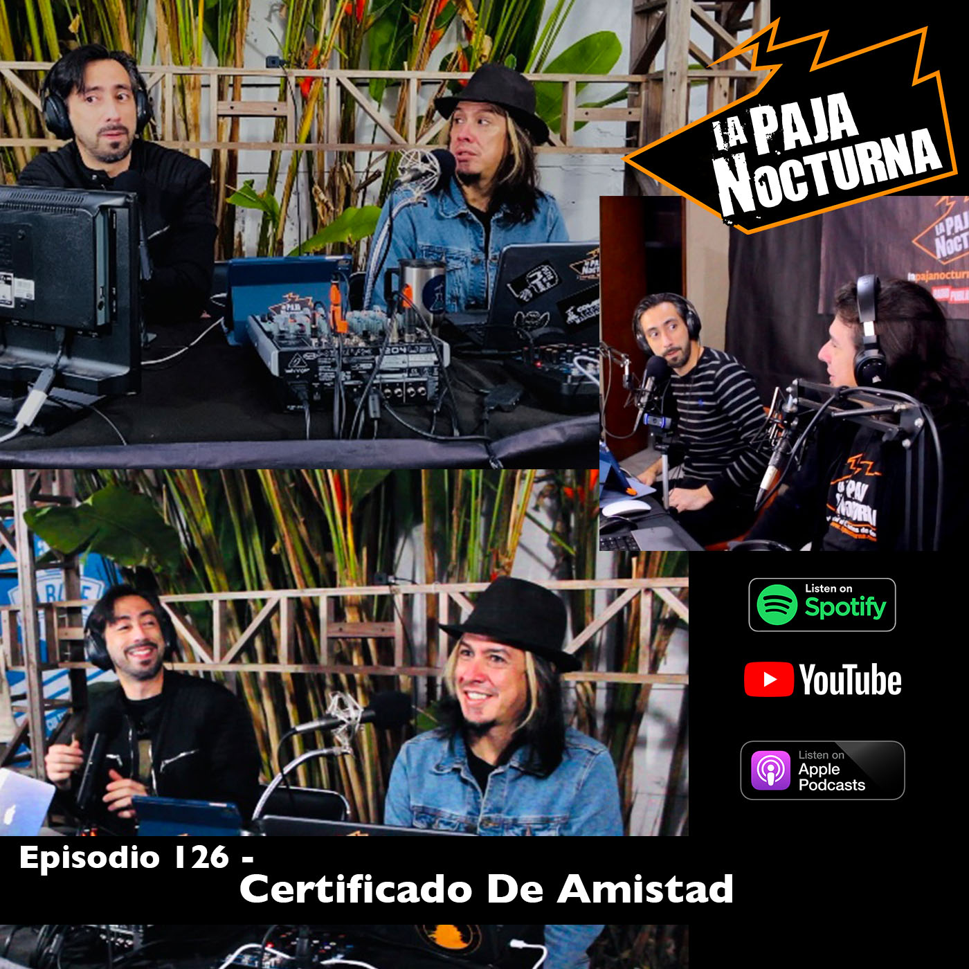 La paja nocturna podcast Episodio 126