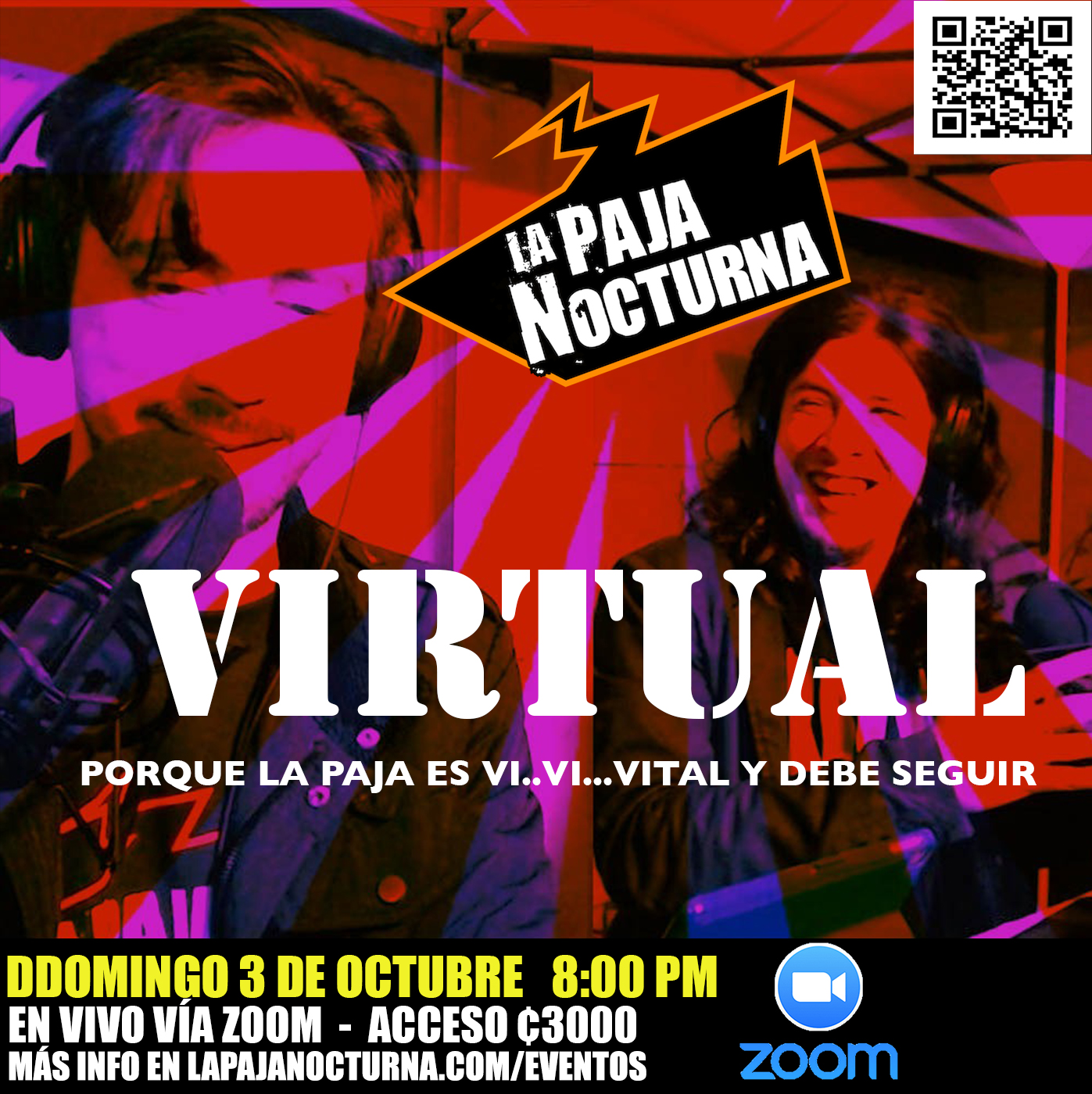 La Paja Nocturna En Vivo 3 Octubre